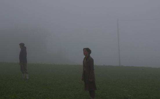 Umhüllt vom Nebel